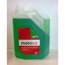 Жидкость бачка омывателя -20C Metaco 4л