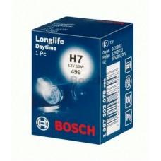 Лампа H7 12V  55W PX26d Longlife Bosch